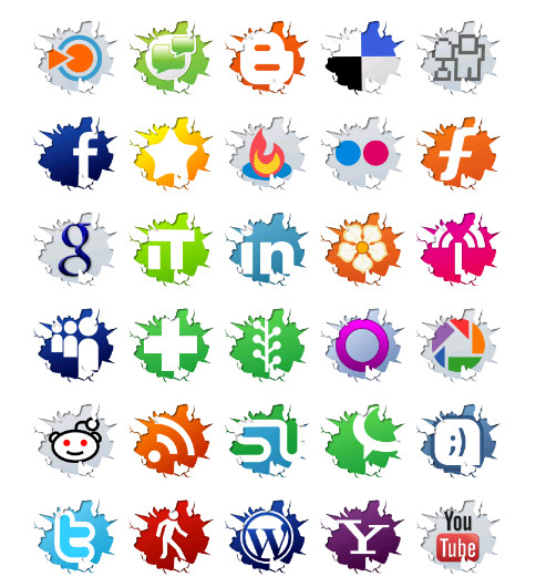 Page Break Icon Best Free Page Social Icons
