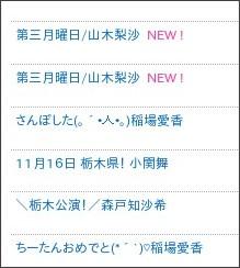 http://ameblo.jp/countrygirls/entrylist.html