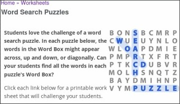 http://www.educationworld.com/a_lesson/archives/wordsearch.shtml#phonics