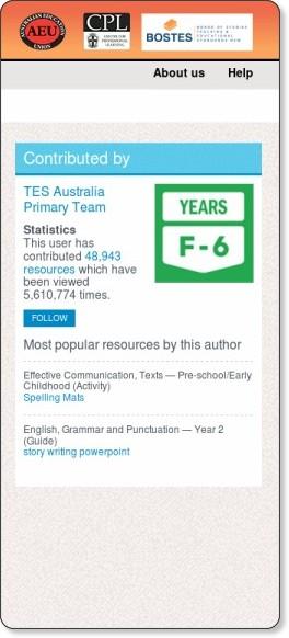 http://www.tesaustralia.com/ResourceDetail.aspx?storyCode=3009267&
