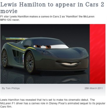 http://www.autoexpress.co.uk/news/autoexpressnews/266167/lewis_hamilton_to_appear_in_cars_2_movie.html