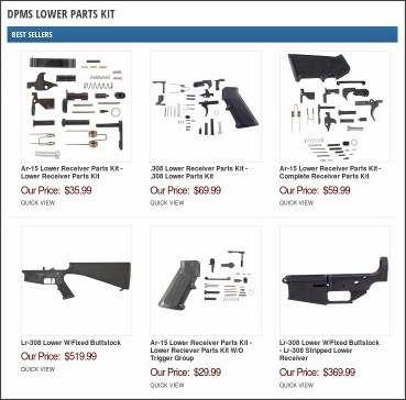 http://www.brownells.com/items/dpms-lower-parts-kit.aspx