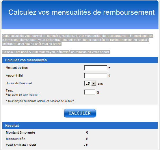 http://www.lesiteimmo.com/financement/calculatrices-immobilieres/calcul-mensualites-pret-immobilier#