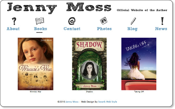 http://jenny-moss.com/books/