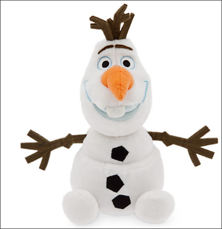 http://www.disneystore.com/olaf-plush-mini-bean-bag-8-frozen/mp/1355036/1000267/