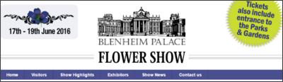 http://www.blenheimflowershow.co.uk/