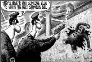 http://electronicvillage.blogspot.com/2009/02/racist-cartoon-infers-barack-obama-is.html