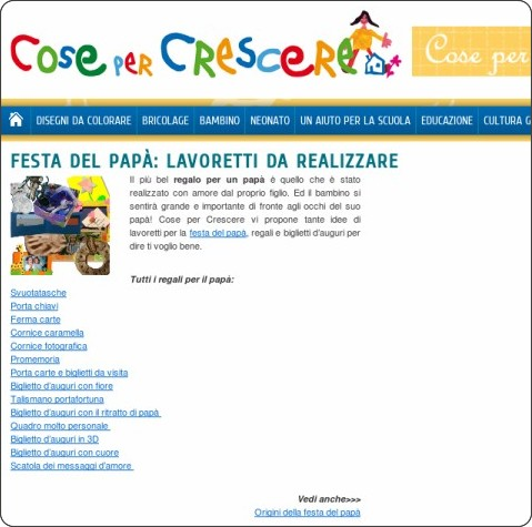 http://www.cosepercrescere.it/festa-del-papa-regali/