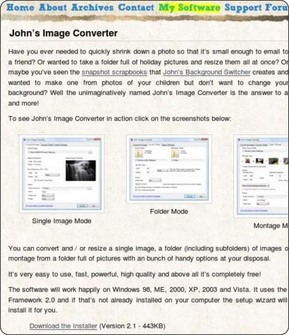 http://www.johnsadventures.com/software/imageconverter/