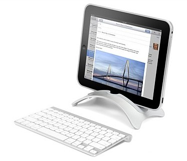 http://twelvesouth.com/products/BookArc-iPad/