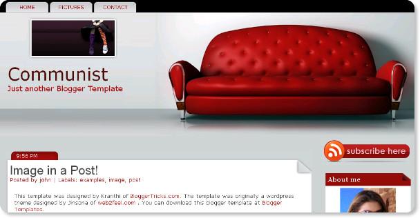 Best Interior Design Blogger Templates