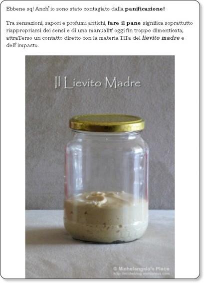 http://micheblog.wordpress.com/2008/09/15/fare-il-pane-il-lievito-madre/