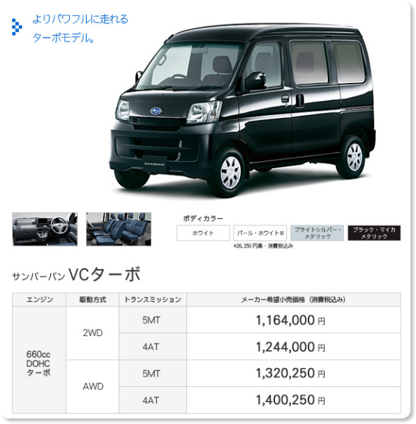 http://www.subaru.jp/sambar/van/lineup/vct.html