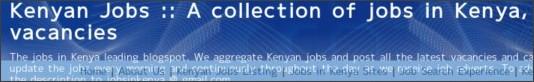 http://kenyanjobs.blogspot.com/