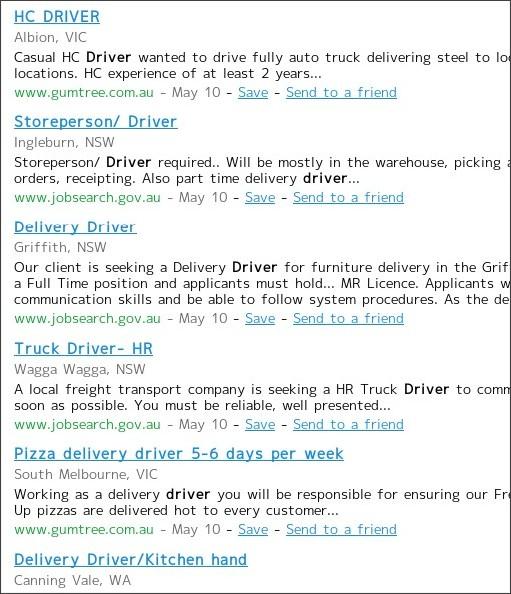 http://www.careerjet.com.au/driver-jobs.html