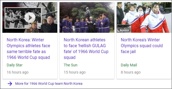https://www.google.com/search?source=hp&ei=JwCLWtqhINTEjAP14bsQ&q=1966+World+Cup+team+North+Korea&oq=1966+World+Cup+team+North+Korea&gs_l=psy-ab.3..0i22i10i30k1.1422.8963.0.9440.13.13.0.0.0.0.197.1833.0j11.11.0....0...1.2.64.psy-ab..2.11.1830...0j0i22i30k1j33i22i29i30k1.0.7w6Ne5Mw-34