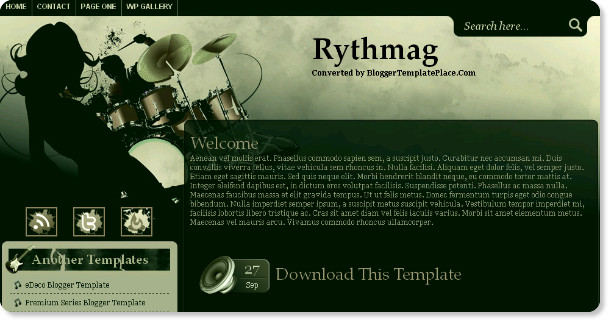 Best Music Blogger Templates