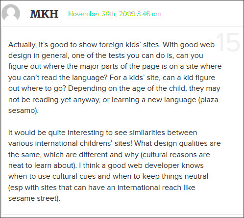 http://www.smashingmagazine.com/2009/11/27/designing-websites-for-kids-trends-and-best-practices/